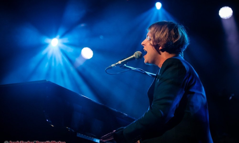 English singer-songwriter Tom Odell performing at The Commodore Ballroom in Vancouver, BC on May 11th, 2019