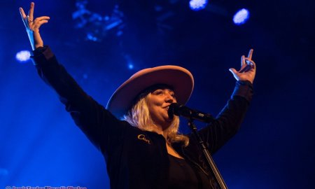 American singer Elle King performing at The Commodore Ballroom in Vancouver, BC on May 21st, 2019.