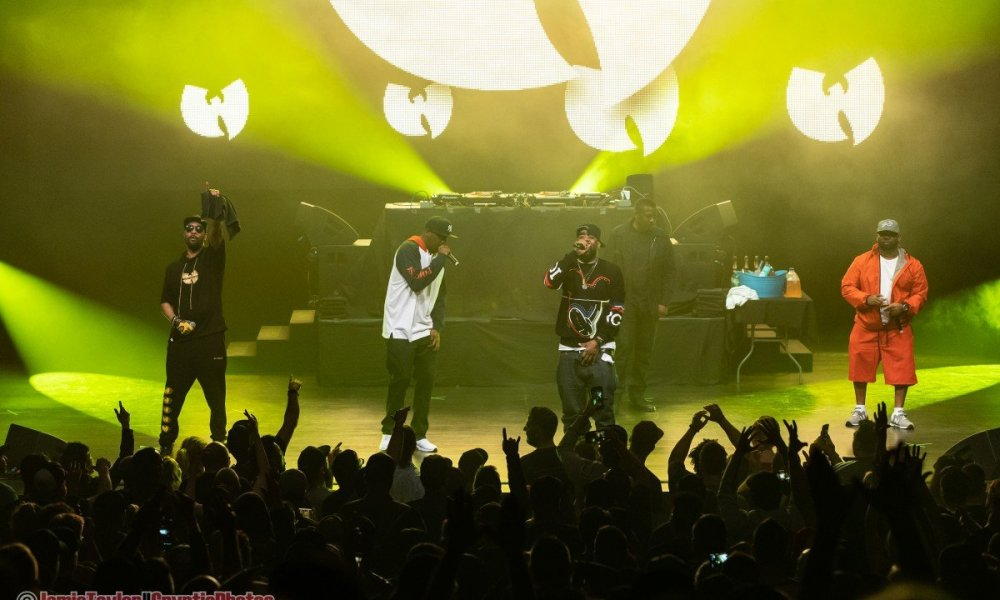 American rap group Wu-Tang Clan performing at the Queen Elizabeth Theatre in Vancouver, BC on June 23rd 2019
