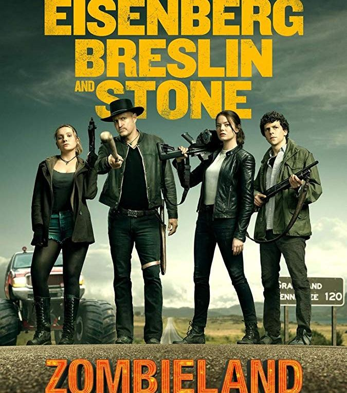 Zombieland double tap poster 2019