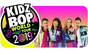 Kidz Bop 2019 tour banner