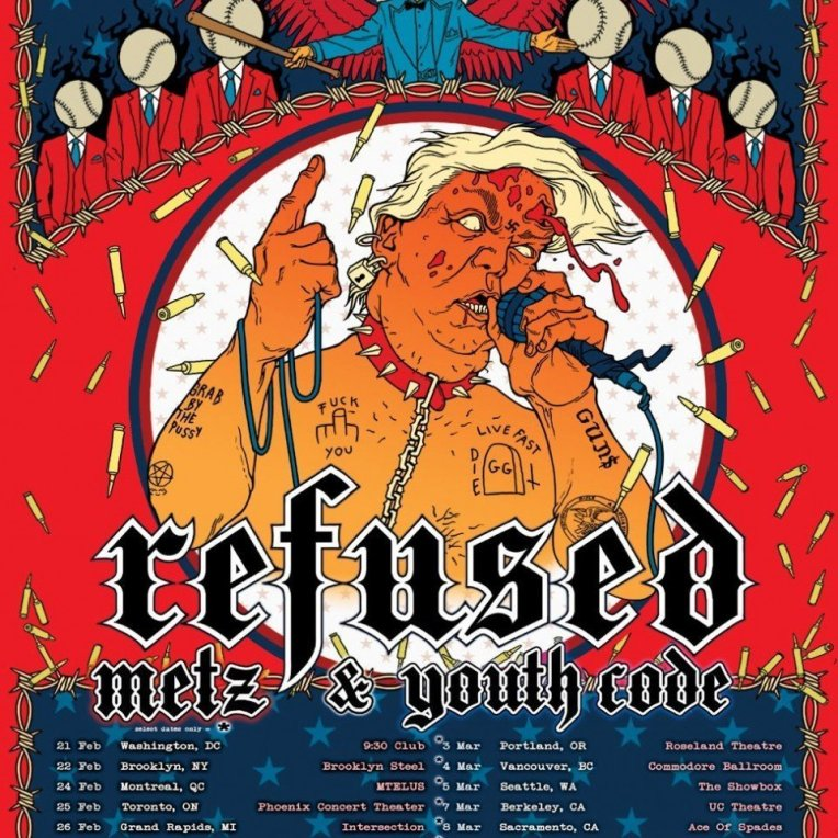 Swedish band refused 2020 tour poster