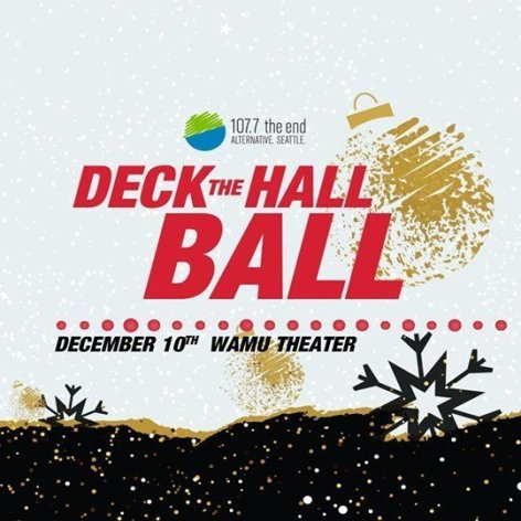 Deck The Hall Ball in Seattle, WA 2019