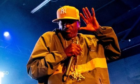Hip hop legend Rakim performing at The Pressroom in Phoenix, AZ on October 3rd 2019