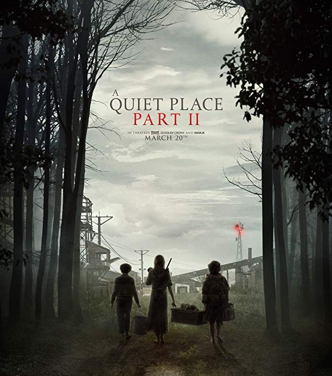 A Quiet Place Part II [2020] - Official movie poster