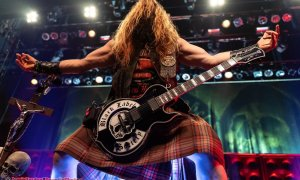 Guitarist Zakk Wylde of Black Label Society performing at the Vogue Theatre in Vancouver, BC on March 4th, 2020