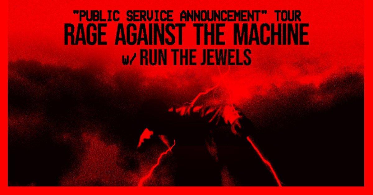 rage against the machine public service announcement 2020 2021 tour