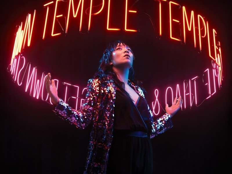 "thao & The Get Down Stay Down's ""Temple"" 2020 cover art"