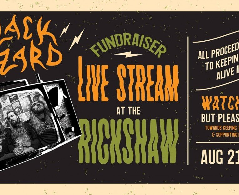 "Black Wizard ""Fundraiser LIVE Stream"" at the Rickshaw Theatre! 2020"