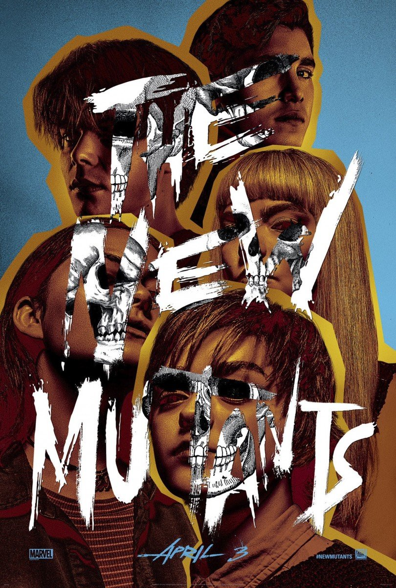 the new mutants 2020 poster admat
