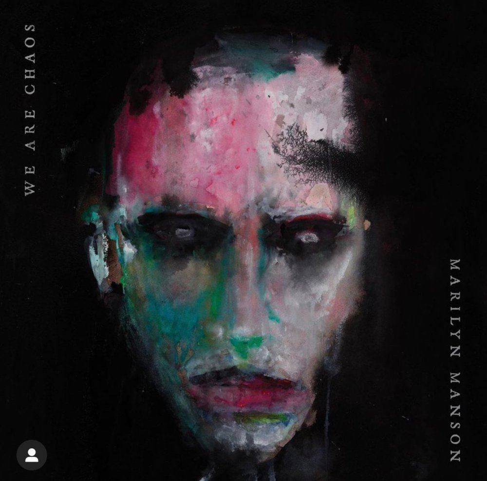 "Marilyn Manson   ""We Are Chaos"" 2020 album cover"