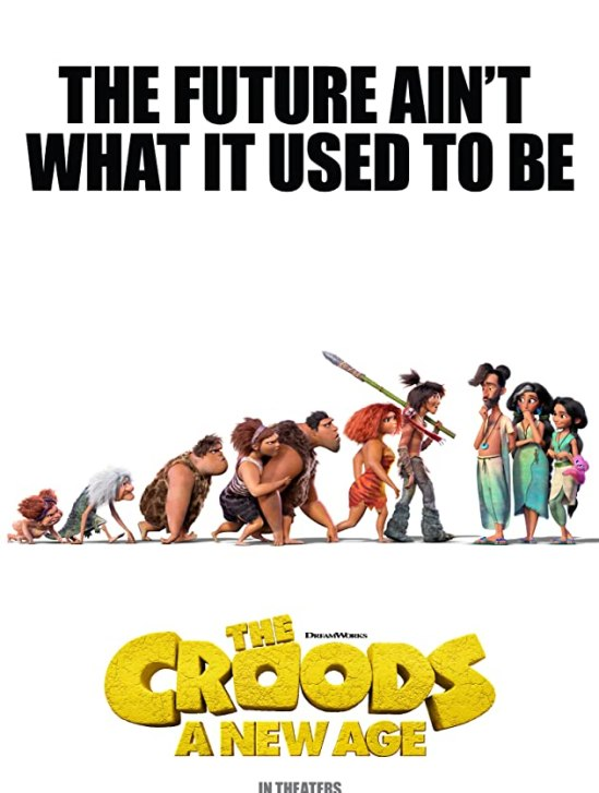 'The Croods: A New Age' [2020] movie poster