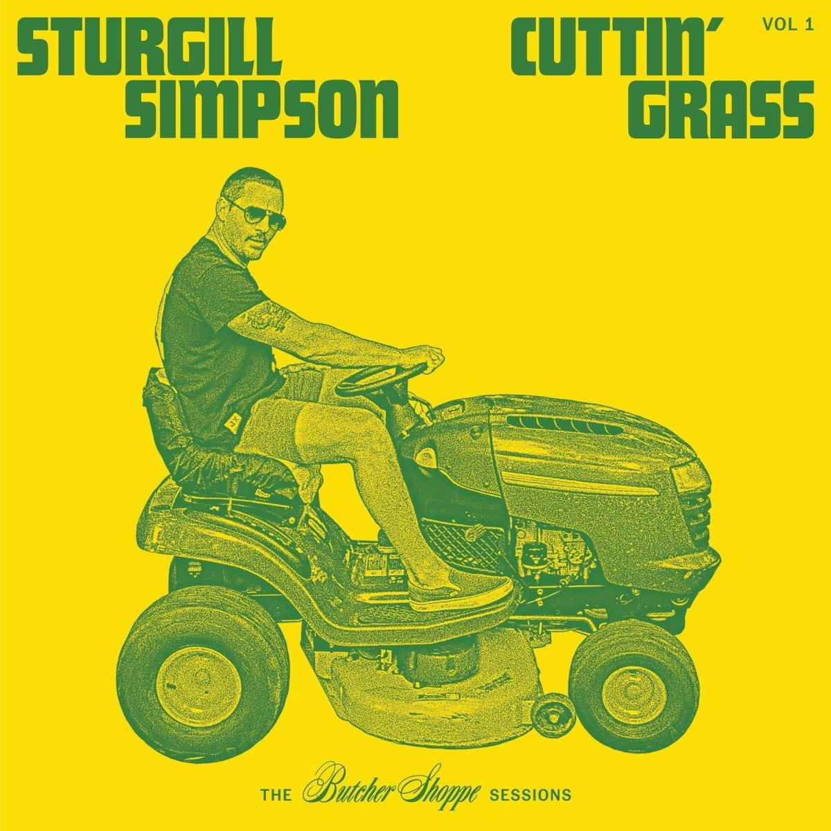sturgill simpson cuttin grass 2020 album cover art