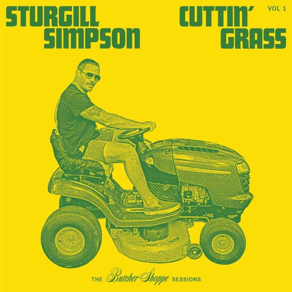 sturgill simpson cuttin grass 2020 album cover art