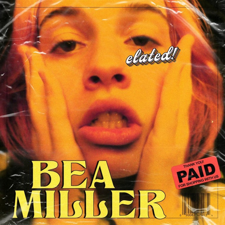 Bea Miller 2020 album elated cover art poster
