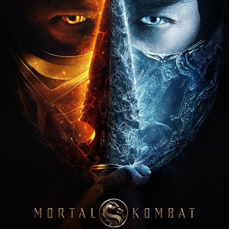 mortal Kombat 2021 movie poster cover art