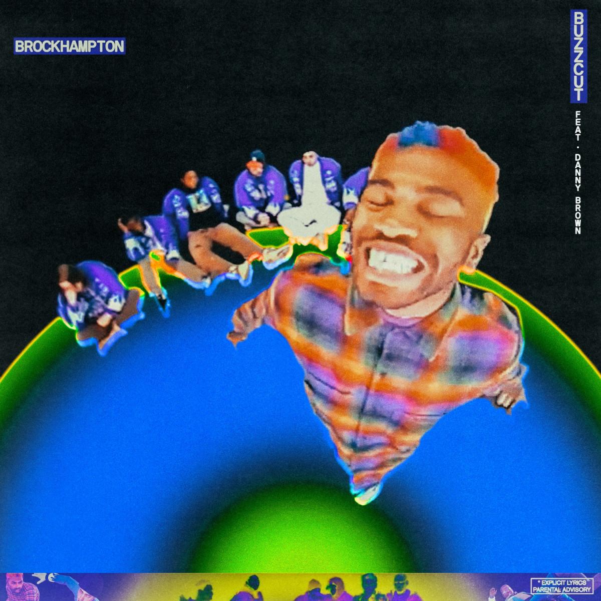 danny brown brockhampton buzzcut cover art poster 2021
