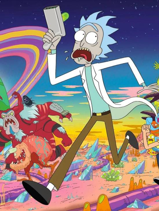 'Rick And Morty' Season 5 poster cover art 2021