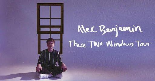 Alec Benjamin 2021 promo tour
