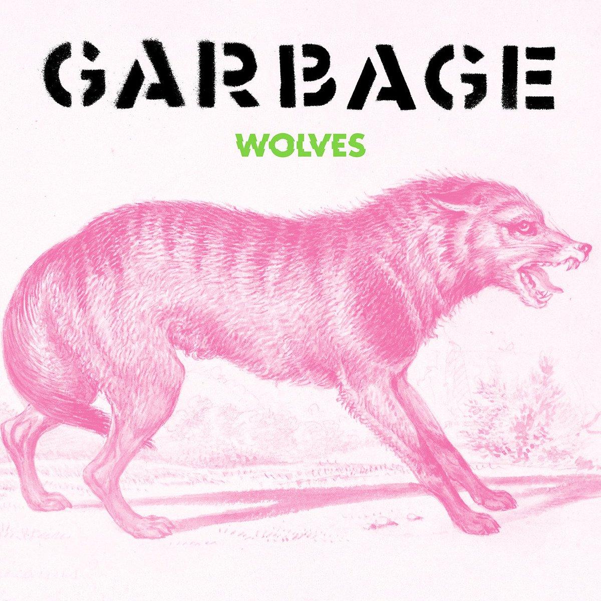 "Garbage New Single ""Wolves"" 2021 cover album art"
