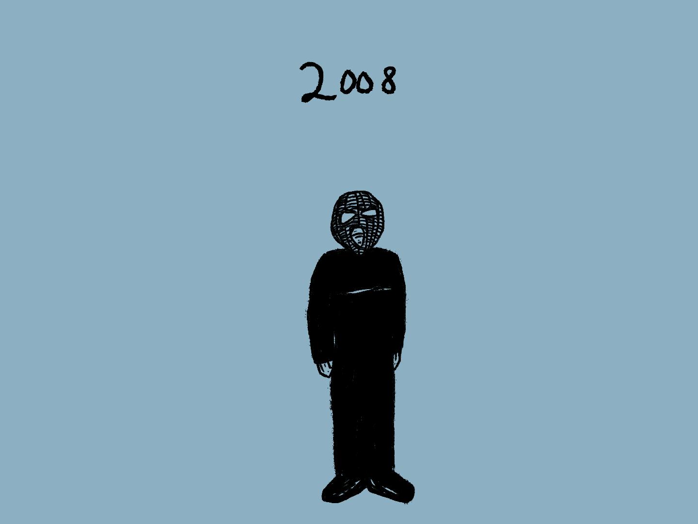 "cleopatrick ""2008"" single cover art 2021"