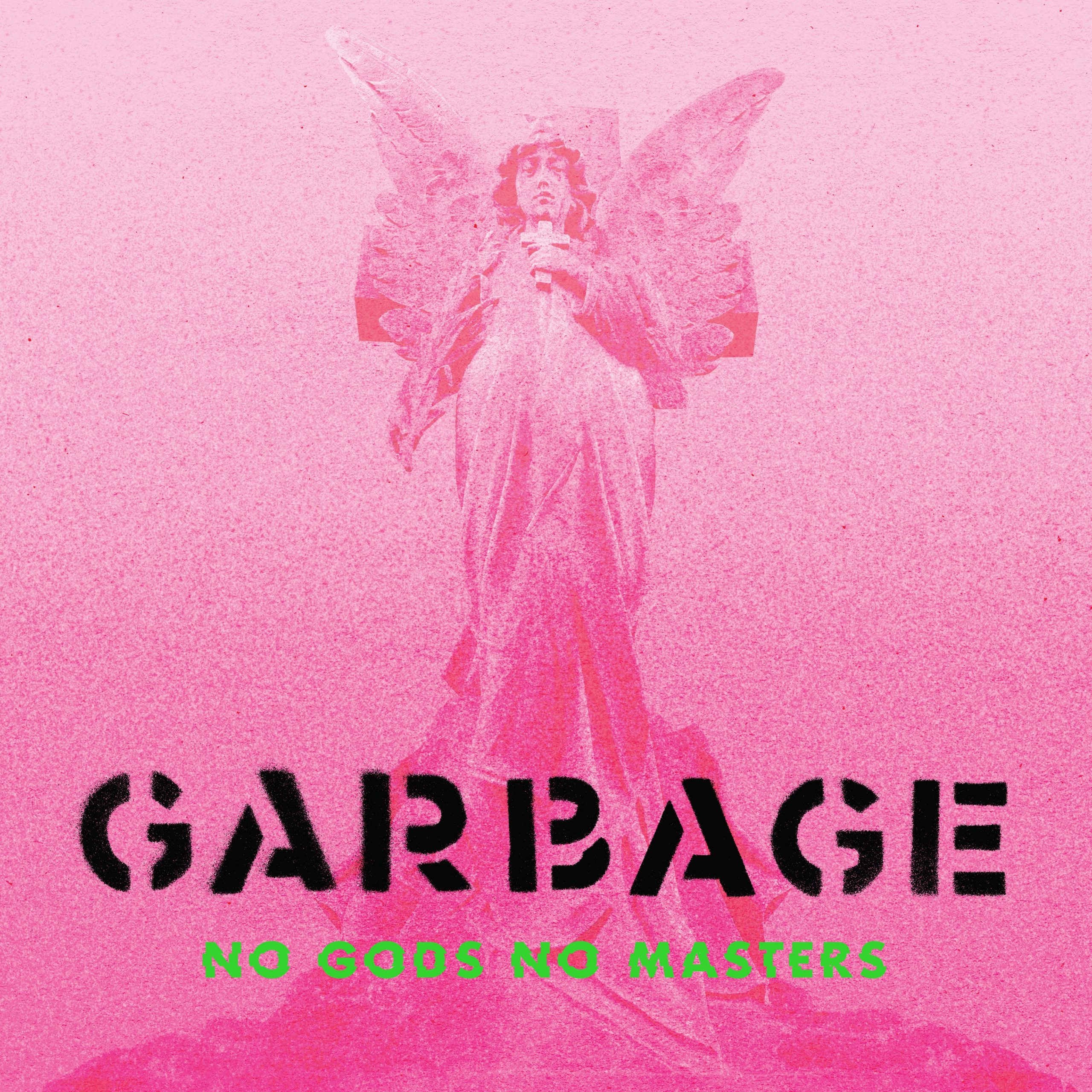 Garbage's 2021 Album 'No Gods No Masters' cover art