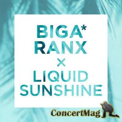 """15614 - Le nouveau CLIP de Biga Ranx """"Liquid Sunshine"""" déjà disponible."""