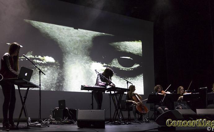 Delaurentis slide - De Laurentis : une vraie performance au Carreau du Temple