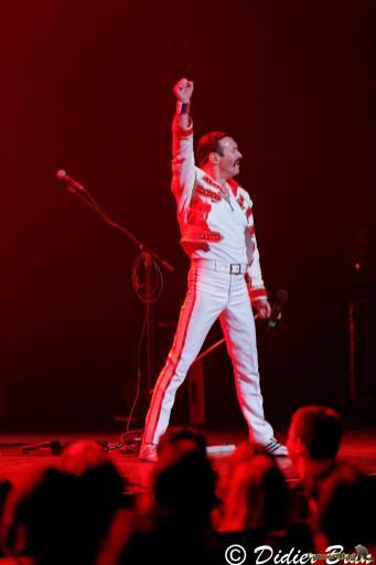 308A9236 - Freddie Mercury revit le temps d'une soirée à la salle Pleyel avec One night of Queen