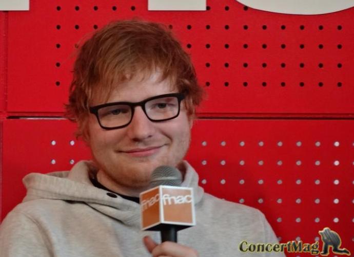 b - La Masterclass d' Ed Sheeran à la Fnac St Lazare 13.03.17