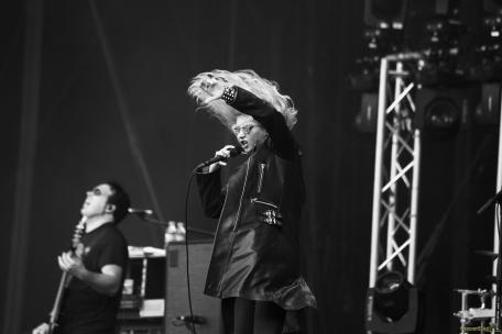 The Pretty Reckless. Rock en Seine 2017 - Paris.