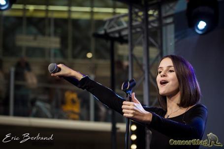 IMG 8494 2 - Marina Kaye offre un Showcase aux Forum des Halles