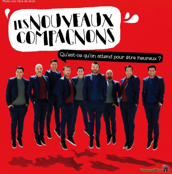 thumbnail LNC album - Les Nouveaux Compagnons revisitent la chanson française