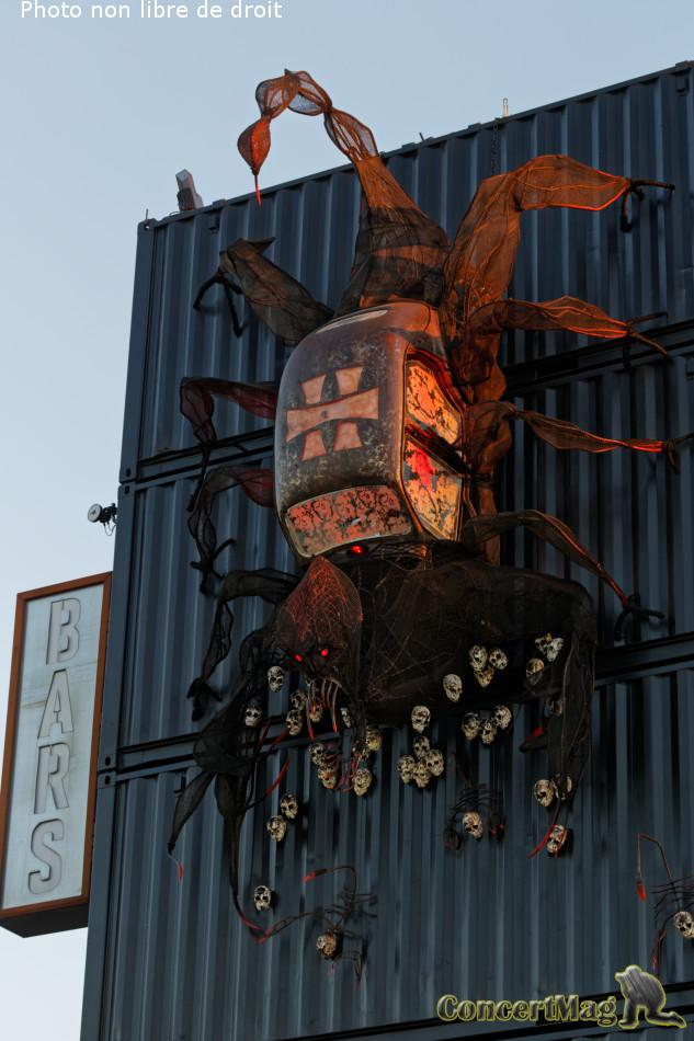 308A5838 DxO - Le HELLFEST avec ses irréductibles métaleux s'installe dans un petit village nantais du nom de Clisson – Jour 1