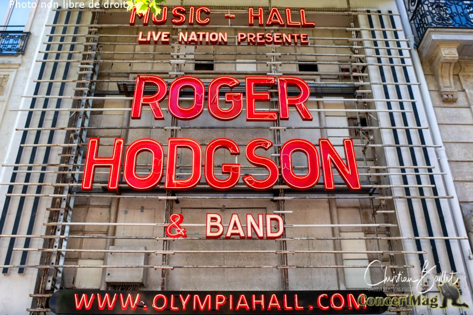"Roger Hodgson à l'Olympia ""Somethings Never Change"""