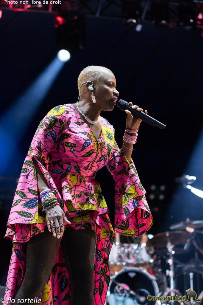 "A Kidjo 13 - Solidays 2019, ""Free your mind"""
