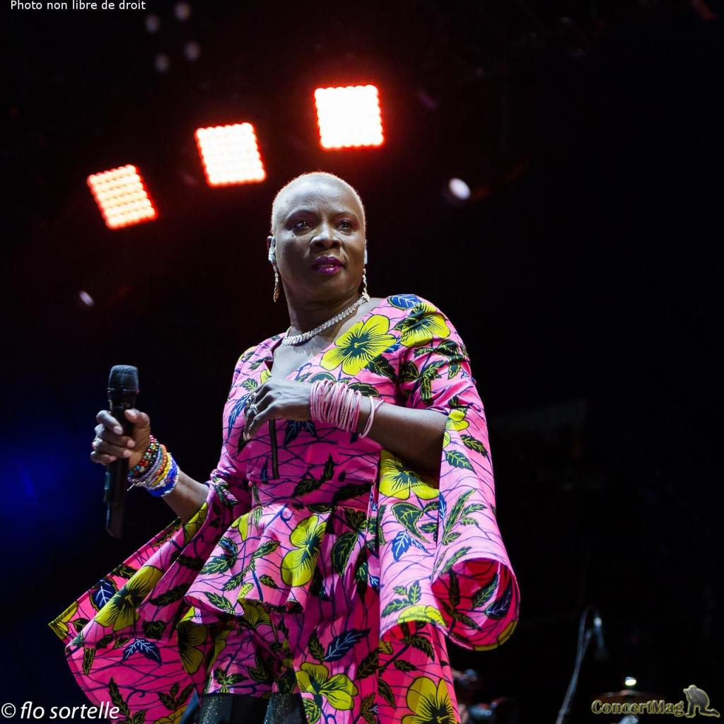 "A Kidjo 16 - Solidays 2019, ""Free your mind"""