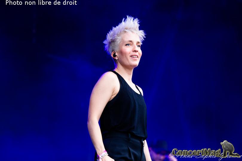 IMG 2580 - Les Nuits Secrètes : Jeanne Added , la petite boxeuse rock-électro