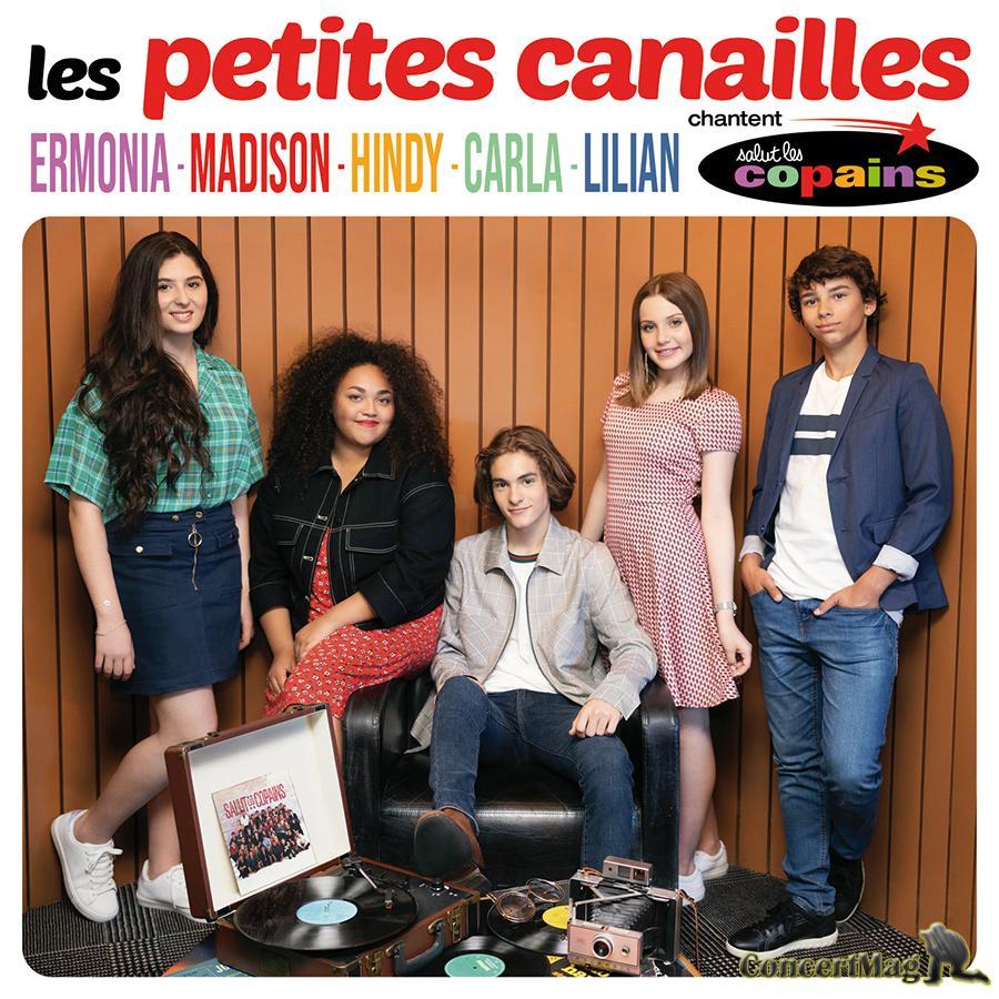 """Pochette Album LPC - LES PETITES CANAILLES CHANTENT """"SALUT LES COPAINS"""""""