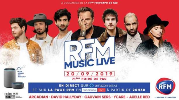 37310240 32992731.jpg - Le RFM Music Live de retour à Pau
