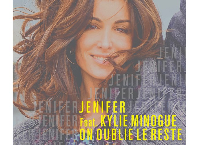 Rec On Oublie Le Reste 1 - Jenifer invite Kylie Minogue sur son nouveau single « On oublie le reste » !