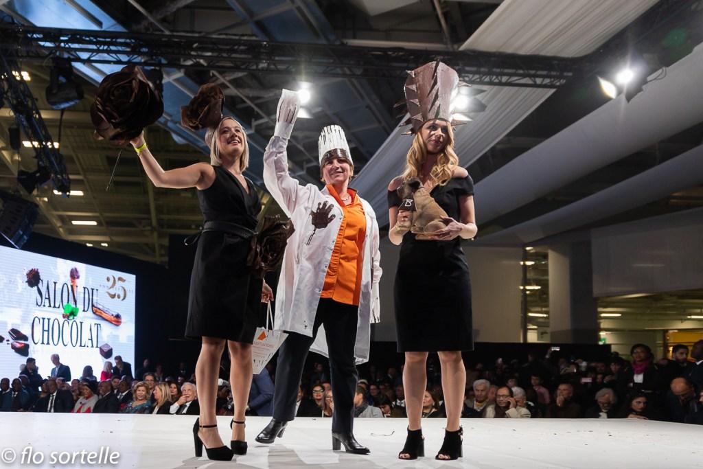 Chocolat Inauguration 12 - Salon du chocolat 2019 : défilé concert pour l' inauguration