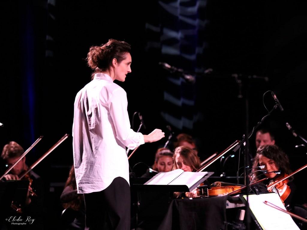 FionaMonbet ElodieRoy LaCigale 30102019 2 1024x768 - Laura Monbet - Orchestre de Chambre et Quintet de Jazz - La Cigale - 30/10/2019