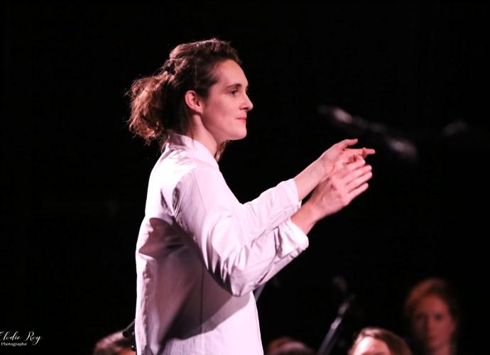 FionaMonbet ElodieRoy LaCigale 30102019 6 - Laura Monbet - Orchestre de Chambre et Quintet de Jazz - La Cigale - 30/10/2019
