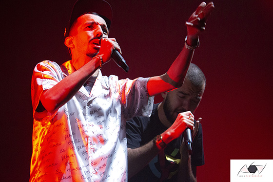 IMG 2854 1 - Le Zénith de Nantes complet pour l'une des dernières dates de tournée de Big Flo et Oli.