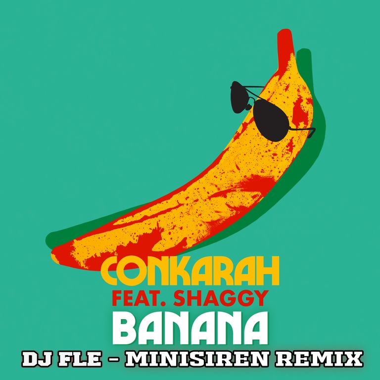 """CY CsCi 1 1 - """"Banana"""" (DJ Fle-remix) de Conkarah feat Shaggy monte en puissance sur les radios et les réseaux"""