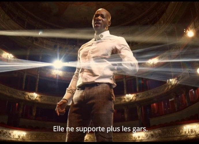 """thumbnail Screenshot 20210126 165259  01 - Singuila sur scène dans son dernier clip """"Les Gars"""""""