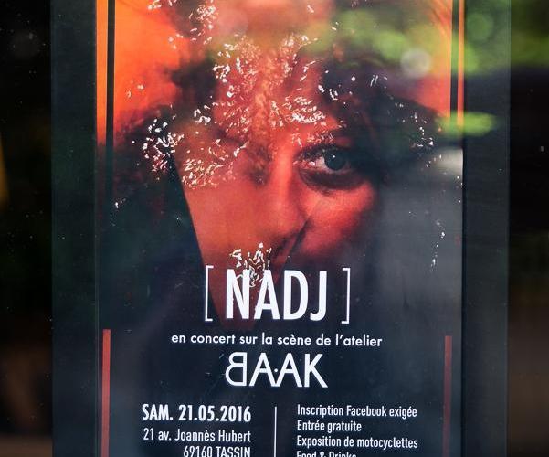 Nadj baak - NadJ....en concert