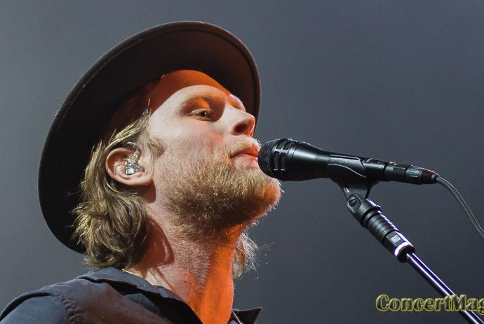 The Lumineers slide - The Lumineers, à l'aise au Trianon !