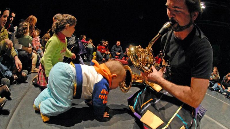 Música para menores de 5. Quanto mais novos mais intensa a experiência – TSF